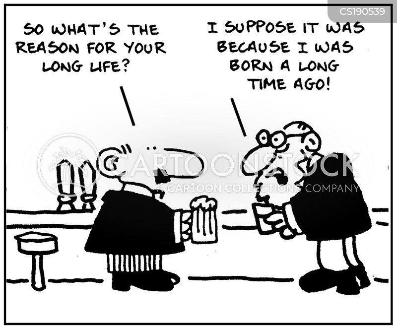 long life cartoon