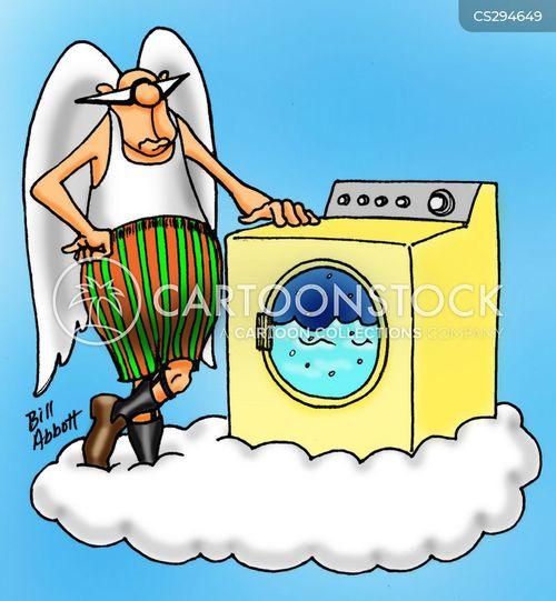 detergents cartoon