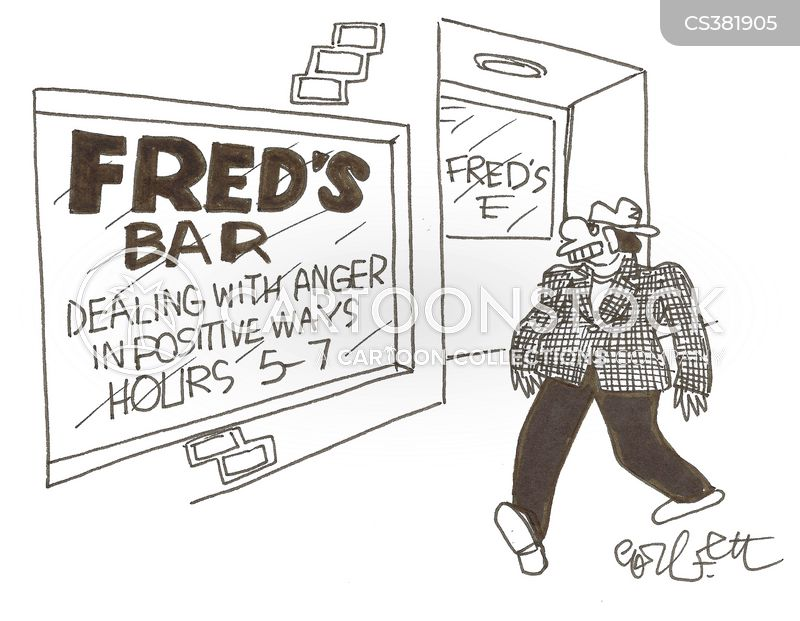 anger therapies cartoon