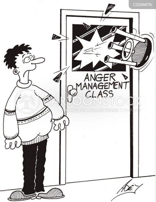 bad tempered cartoon