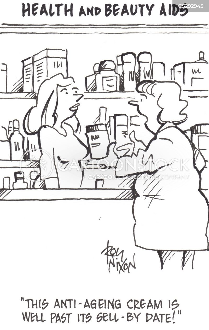 sell by dates cartoon