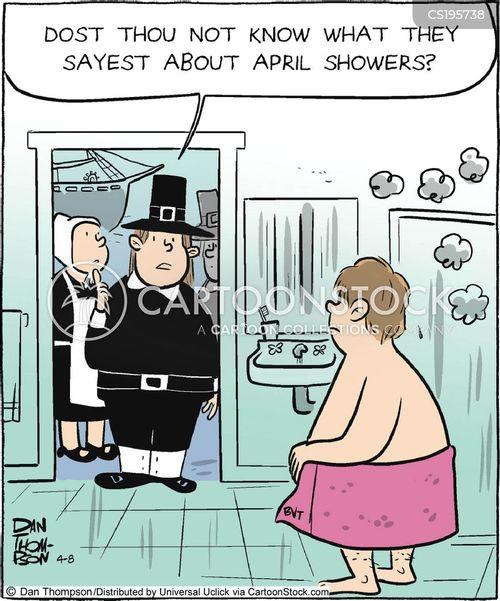 old english cartoon