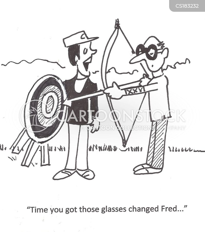 eye exams cartoon