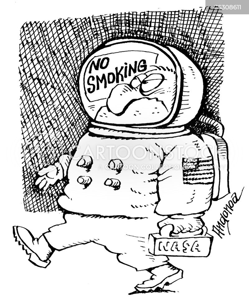 no smoking policies cartoon