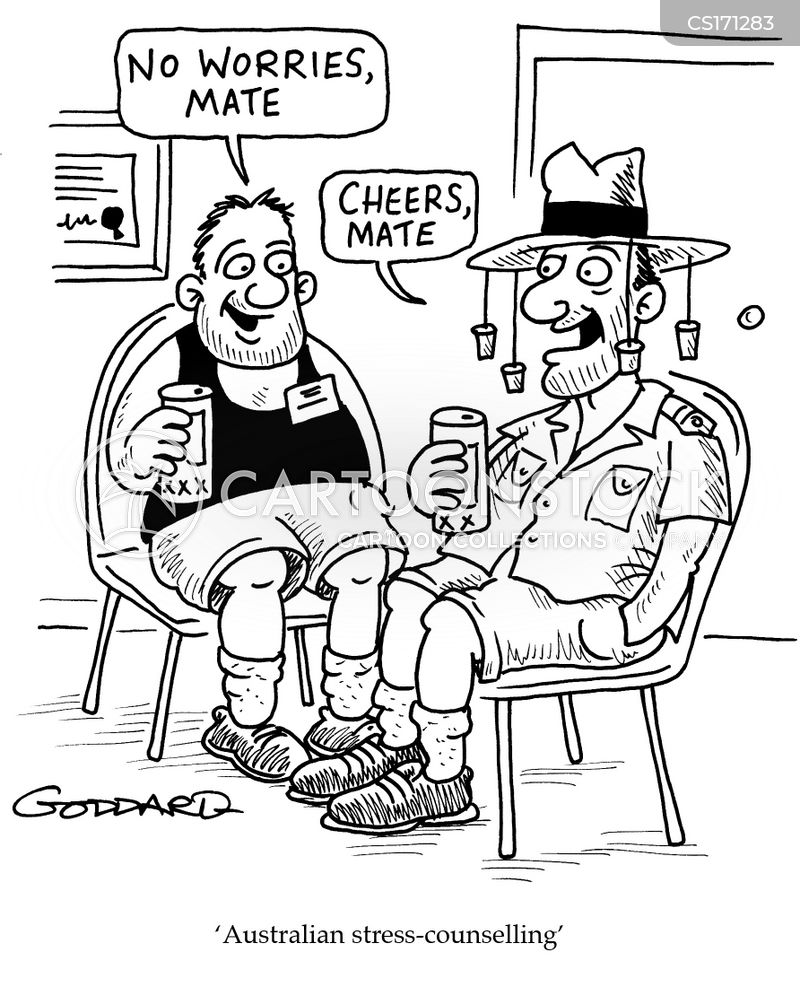 australians cartoon