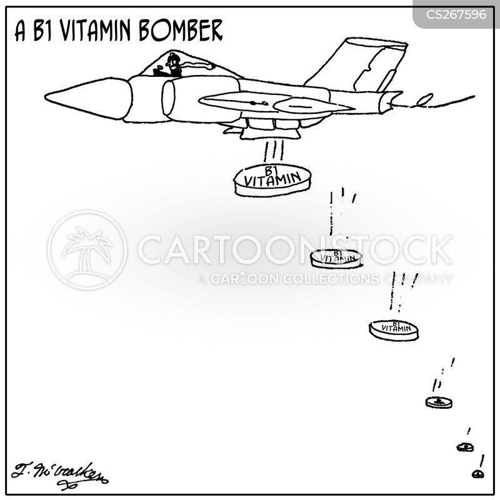 vitamin pill cartoon