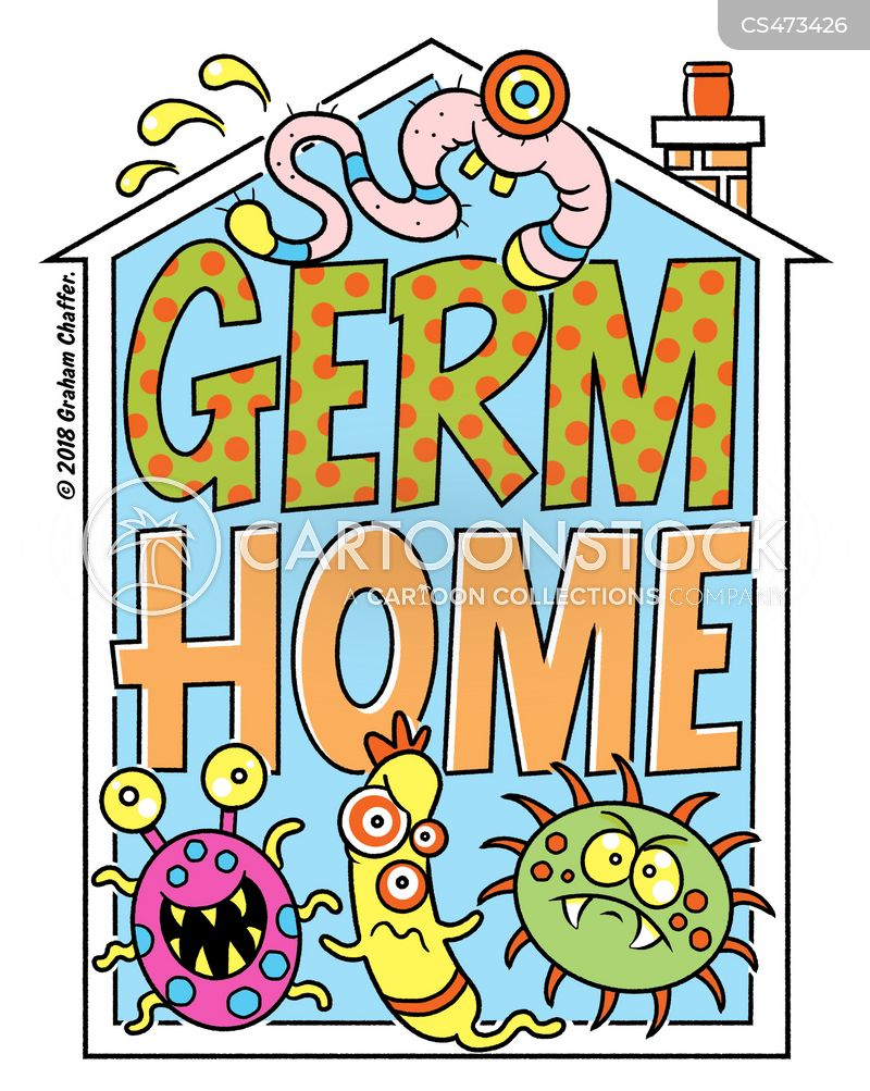 germophobe cartoon