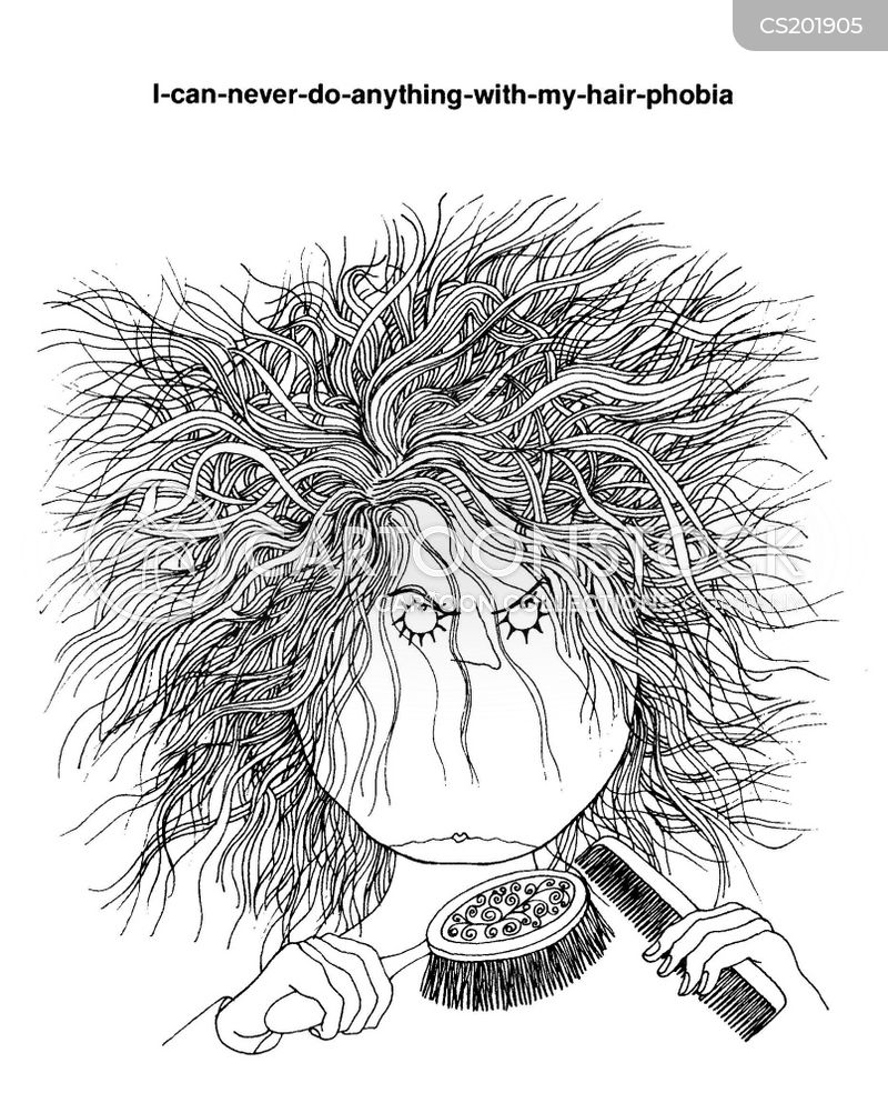 Hair Brushes Cartoons And Comics Funny Pictures From Cartoonstock