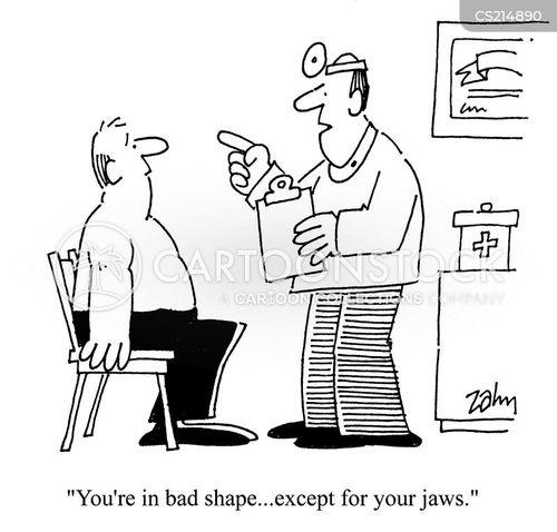 bad shape cartoon