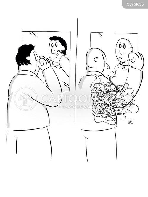 nose-hairs cartoon