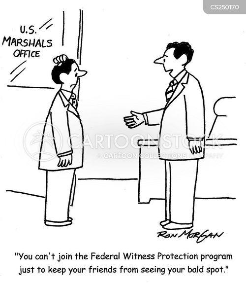 witness protection program cartoon