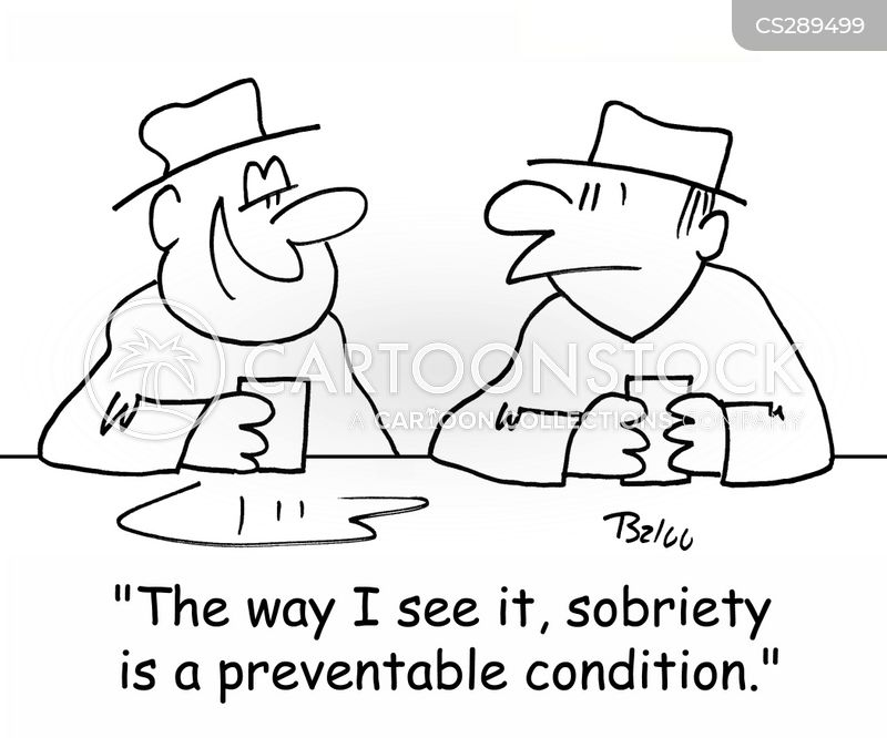 sobriety cartoon