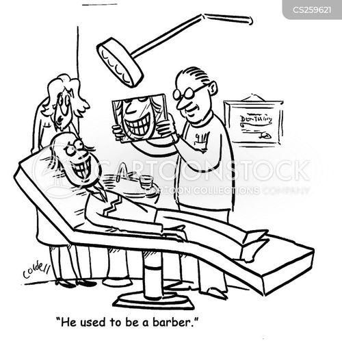 dental assistant cartoon