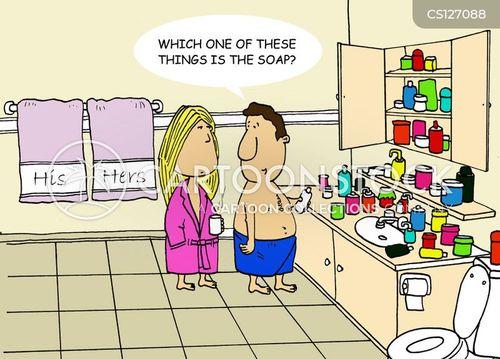 co-habiting cartoon