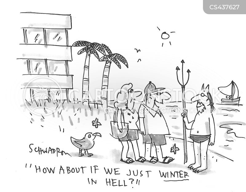 warmer climates cartoon