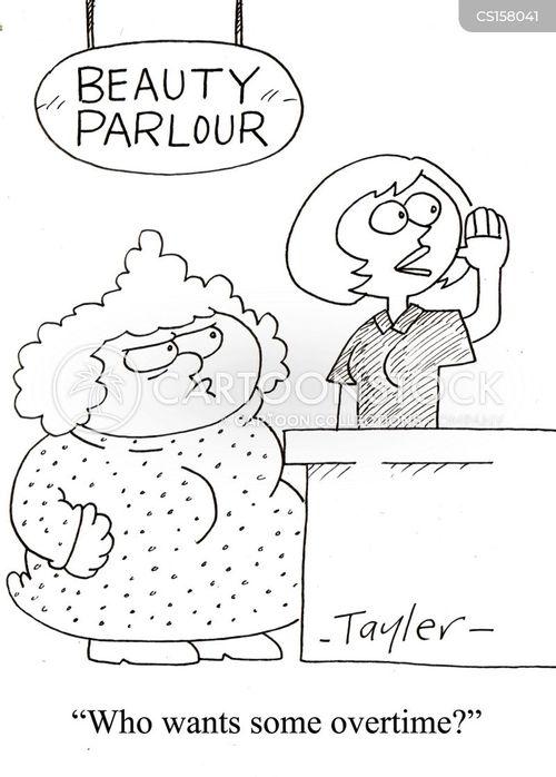 ugly woman cartoon
