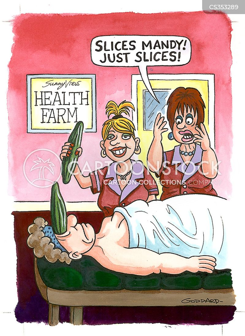 facials cartoon