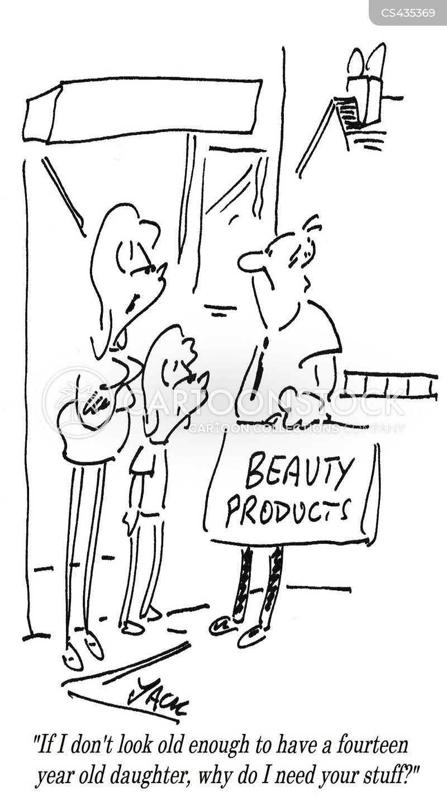 youthful appearance cartoon