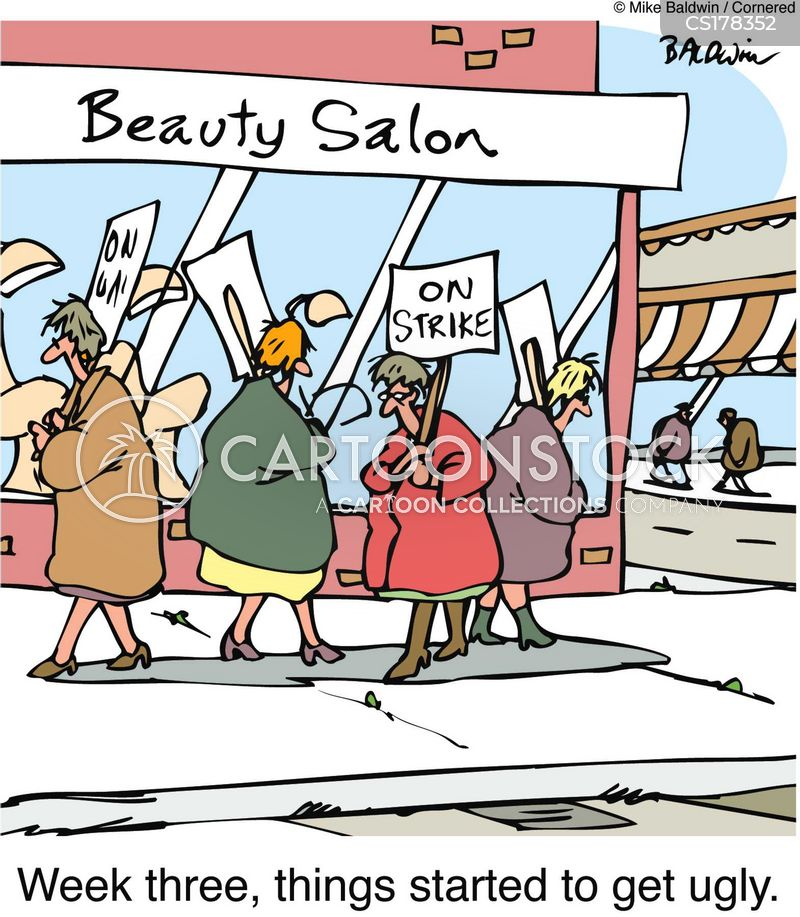 Beauty Salon Cartoons And Comics Funny Pictures From Cartoonstock