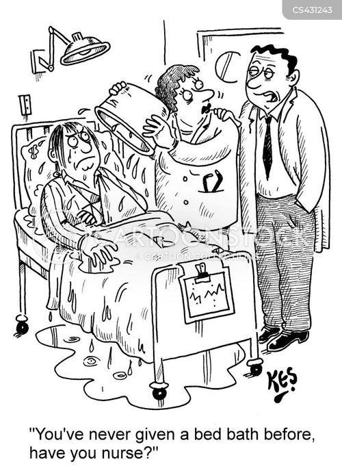 Bed Bath Cartoon 3 Of 4