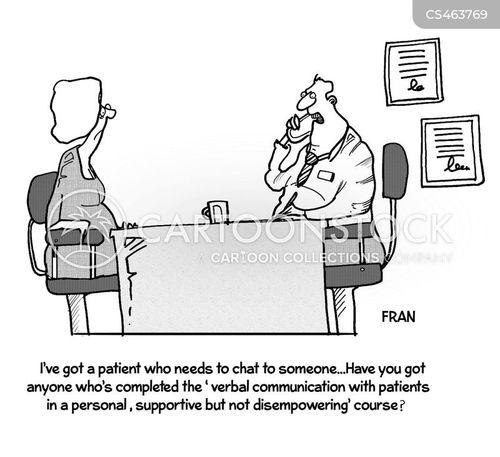 supportiveness cartoon