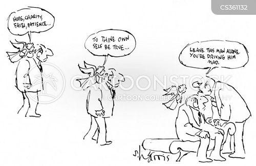 devout cartoon