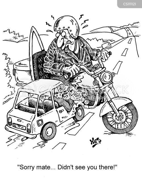 motorbikers cartoon