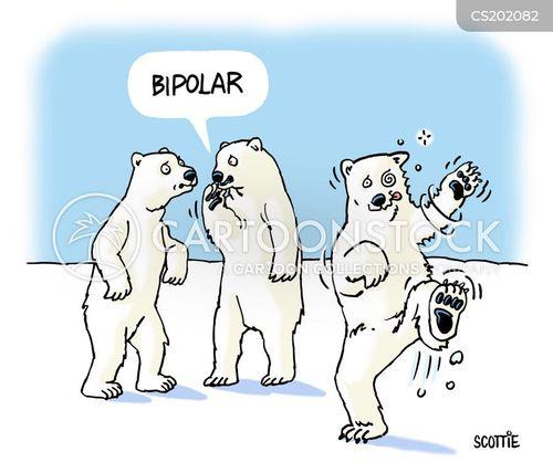 bipolar cartoon