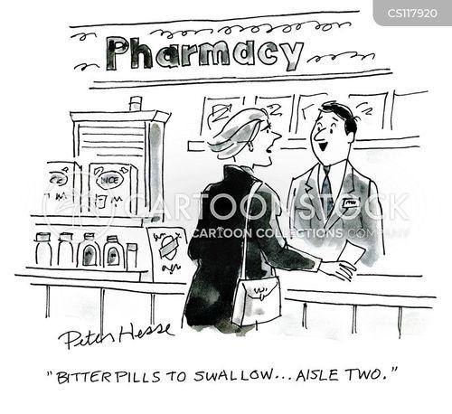 bitter pill cartoon