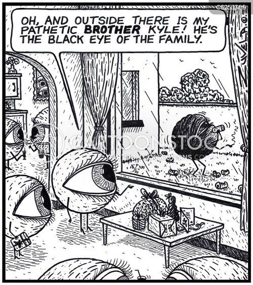 family membmers cartoon