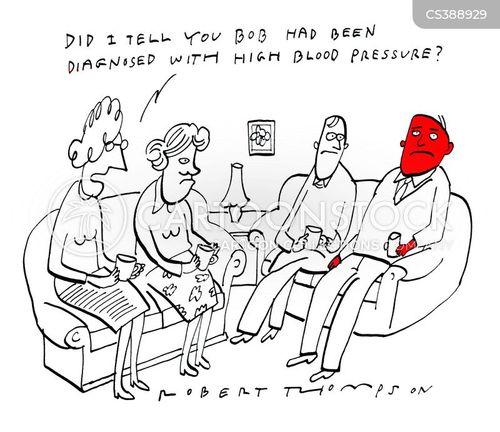 bleeds cartoon