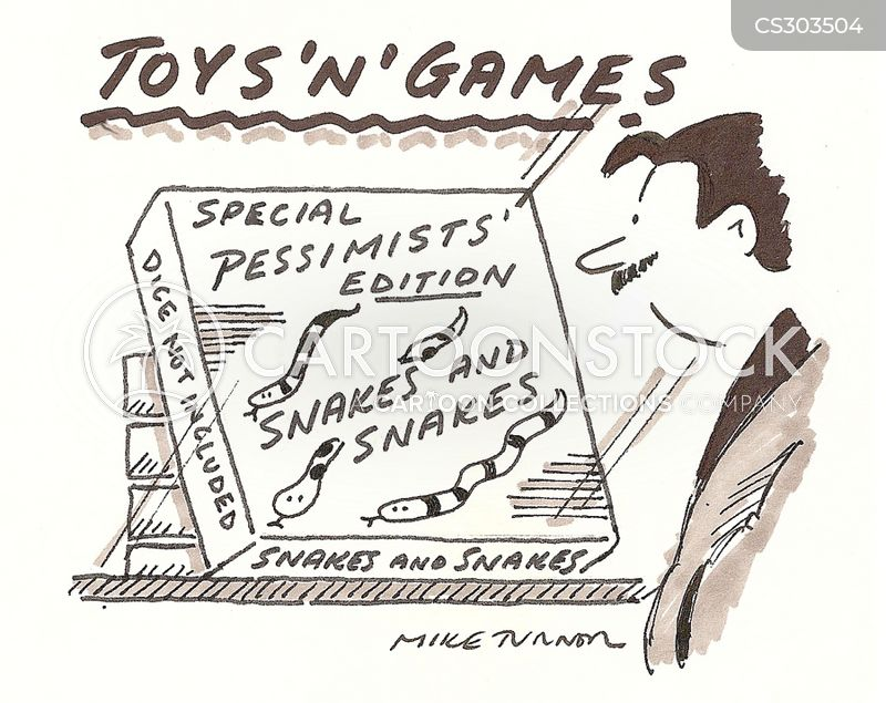 snakes and ladders cartoon