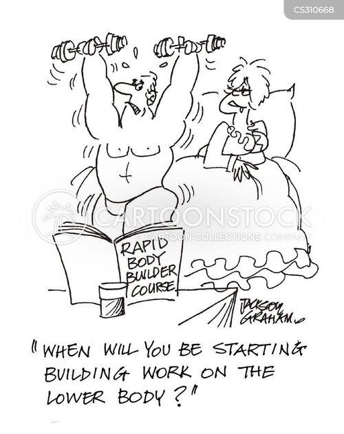 upper body cartoon
