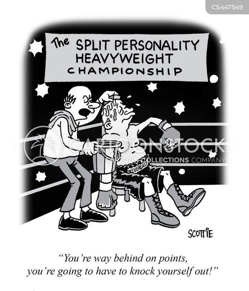 knockout cartoon