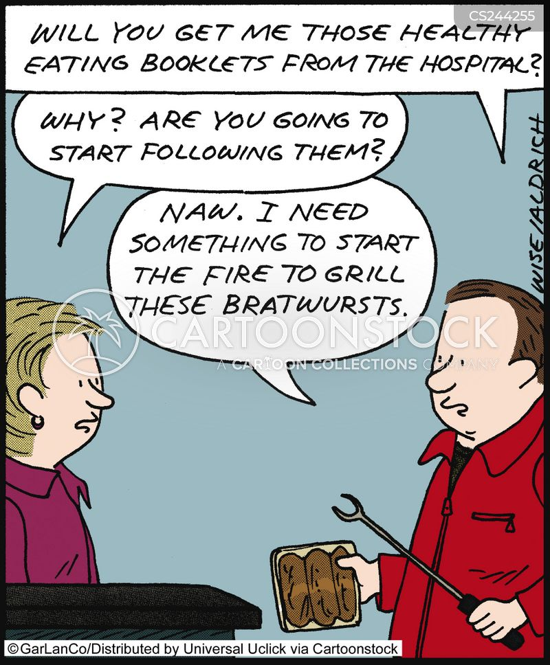 bratwurst cartoon