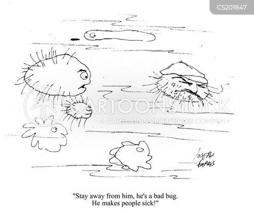 microbe cartoon