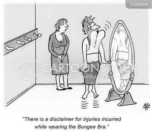 bungee cartoon