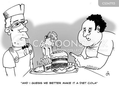 diet cola cartoon