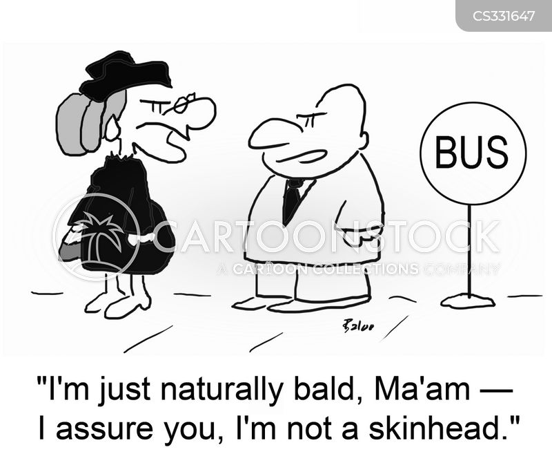 skinheads cartoon