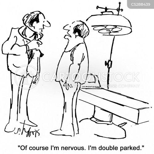 double parked cartoon