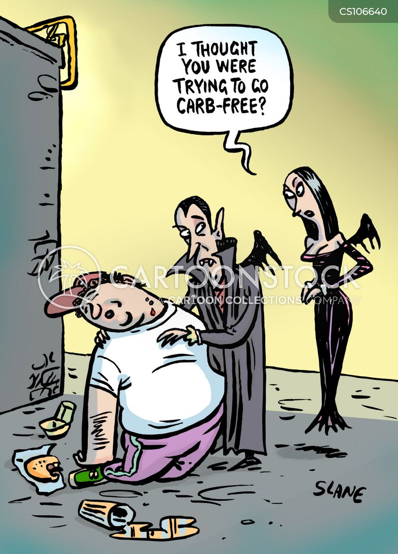 loses weight cartoon