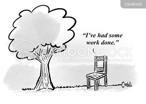 wood-workers cartoon