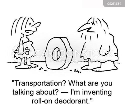deoderants cartoon