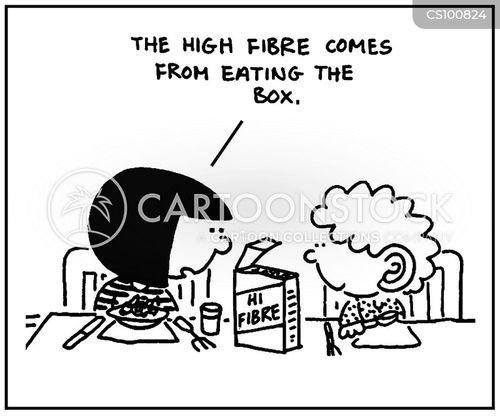 fibres cartoon