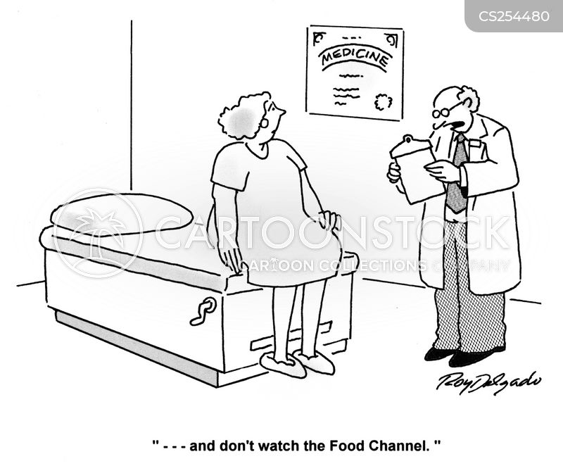 food channels cartoon