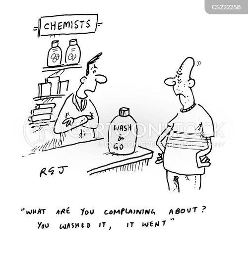 shampoo cartoon