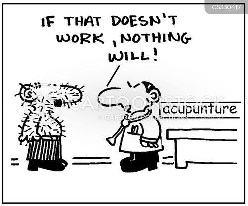 acupunturists cartoon