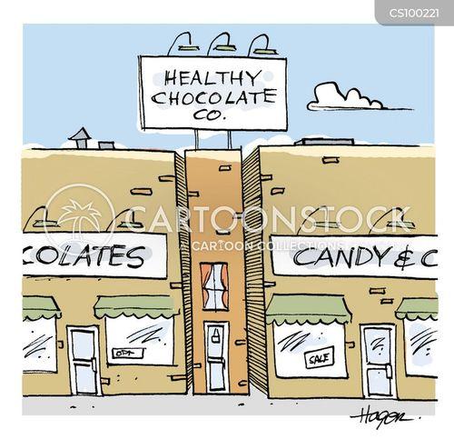 skinny cartoon