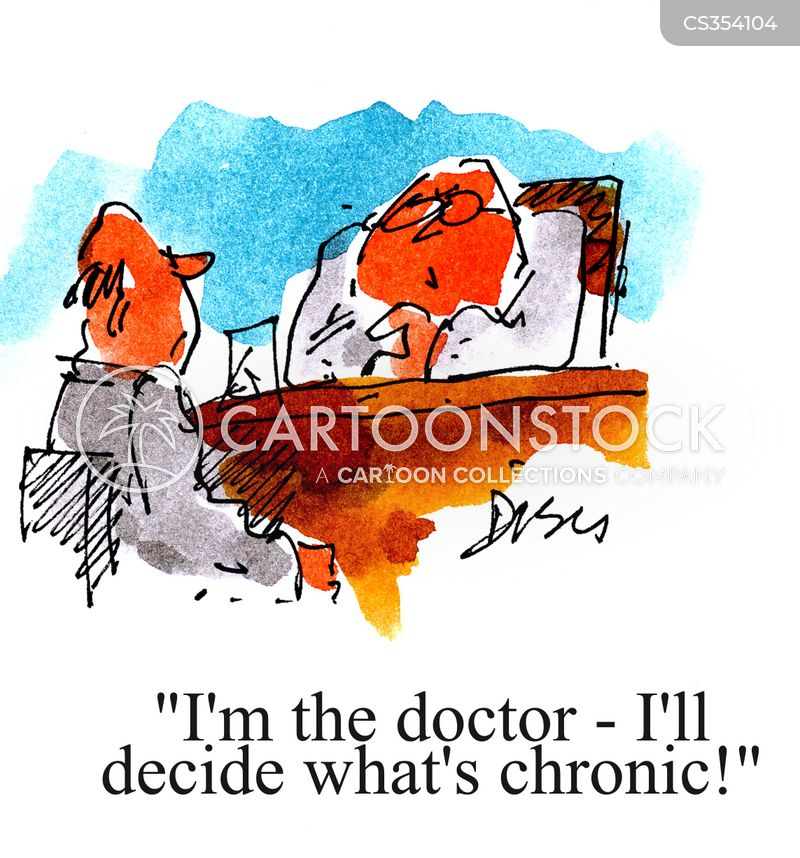 chronic cartoon