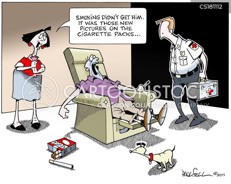 health warnings cartoon